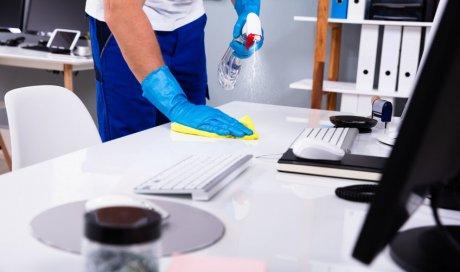 Contrat d'entretien et nettoyage de bureaux d'entreprise à Orange
